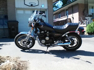 HONDA 1983 NightHawk 550 Motorcycle Powerful