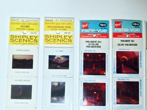 VINTAGE 1970's TRAVEL SLIDES X6 (SEALED$ London Ontario image 2