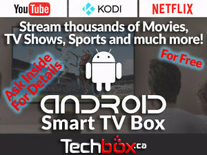 ANDROID TV BOXES - SALE OR REPAIR- KODI - TV / MOVIES / SPORTS
