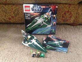 Lego Star Wars Saesee Tiin's Starfighter