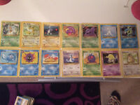 Damaged Pokemon cards
