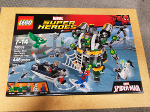 Lego Spiderman 76059 Doc Ock's Tentacle Trap