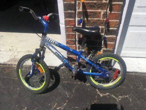Boys Blue Bicycle for Ages 3-6 Years Old for Sale