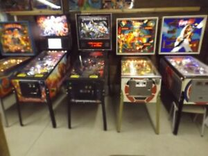Pinball machines starting at $2195 to $7795
