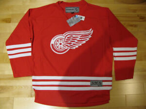 NHL/REEBOK DETROIT RED WINGS JERSEYS TEAM SET / NWT / OFFICIAL