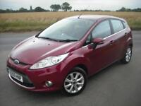 FORD FIESTA 1.25 ZETEC PETROL *FULL SERVICE HISTORY* NEW CAM BELT KIT! 1 OWNER