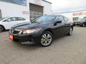 2009 Honda Accord EX Cpe-LEATHER,SUN ROOF,ALLOYS,WARRANTY$9,199