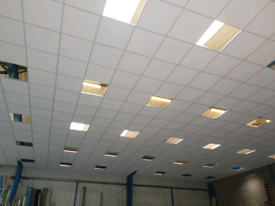 Suspended Ceilings Shop Fitting