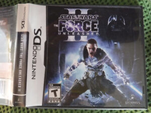 Star Wars The Force Unleashed II Nintendo DS