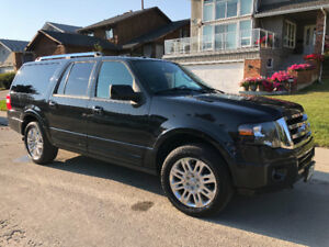 Ford Expedition Max LTD (2013) Black
