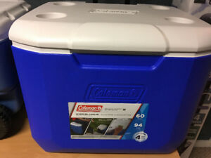 2 x Coleman Camping coolers, Like New