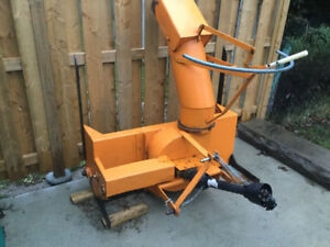 """Snowblower 51"""" for compact tractor $1100.00"""