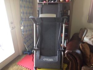 Weslo Treadmill and Sit down Exercise Bike