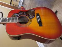 EPI Hummingbird pro Acoustic/electric