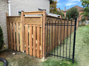 Fence Installations or Replacement -Reduced Price