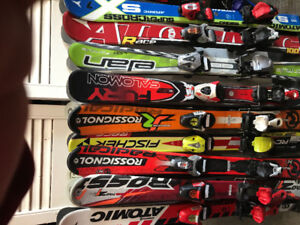 Skis junior garçon 70/80/90/100/110/120/130cm +
