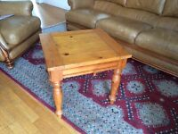 Charming Solid Pine Occasional Table