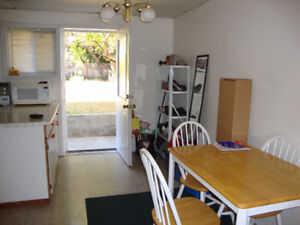 Spacious 2 bedroom suite walking distance to UVic