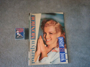 Marilyn Monroe Poster book & Collector Card Complete Set