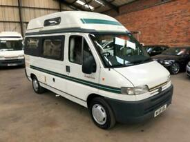 NOW SOLD Peugeot BOXER 270 MWB Auto Sleeper Symphony 4 berth motorhome