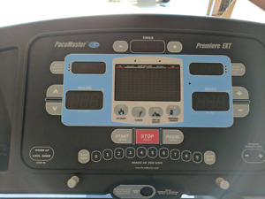 Excellent condition PaceMaster Premiere EXT treadmill for sale