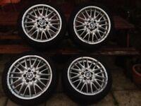 BMW MV1S alloy wheels 18 inch Genuine