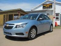 2011 Chevrolet Cruze LS+ w/1SB Sedan.....ONLY....45000 kms...