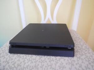 PS4 Slim 500 GB Console W' All Cords, Wireless Controller & GTA5