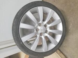 4 pneus d'été 18pouces