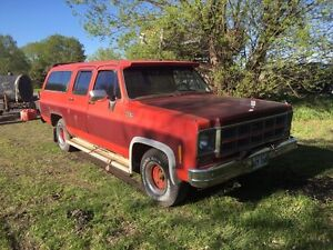 1980 suburban-best for parts
