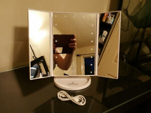 Brand New Impressions Touch 2.0- 3 Way Makeup Vanity Mirror