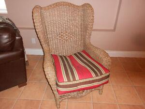 Heavy duty Wicker chair