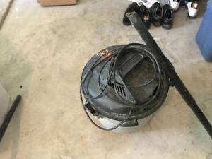 Shop vac vacuum 10L 4.5 v