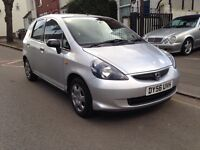 2006 HONDA JAZZ 1.2 PETROL. 2 OWNERS. PREVIOUS LADY OWNER FOR 8 YEARS. HPI CLEAR. FULL MOT