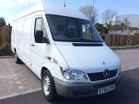 MERCEDES BENZ SPRINTER 2.2TD 311CDI + LWB + HIGH ROOF + PANEL VAN
