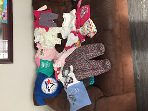 Baby girl clothes and brand new snowsuit