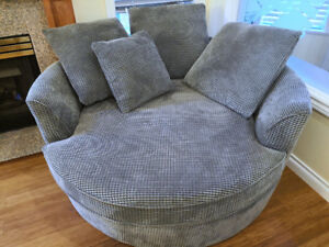 Urban Barn Large Round Nest Sofa