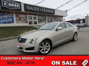 2014 Cadillac ATS 2.0 Turbo Luxury   AWD!  LEATHER!  CAMERA!  RE