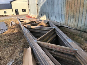 Trusses - For Sale