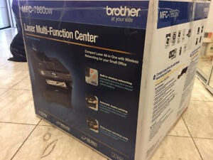 (Almost New) Wireless Laser Printer + Fax + Scanner (Brother)
