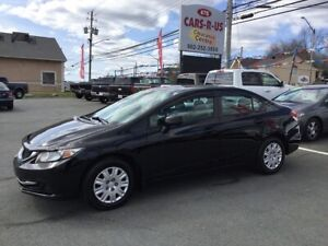 2013 Honda Civic LX  FREE 1 YEAR PREMIUM WARRANTY INCLUDED!