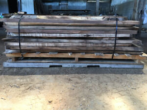 Large Inventory of Kiln Dried Black Walnut and Cherry