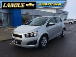 2012 Chevrolet Sonic LT-BLUETOOTH-REMOTE START-AUTOMATIC