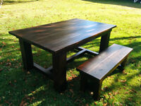 Custom Made Harvest Tables