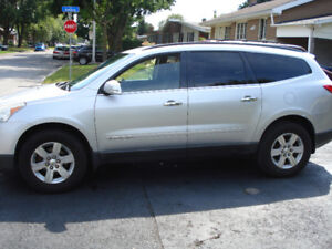 2009 Chevrolet Traverse (8 passenger fully equipped/inspected)