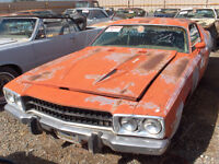 Wanted 1973-1974 plymouth satellite road runner parts
