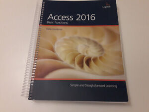 Access 2016 Office Administration Textbook
