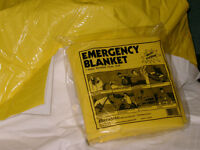 EMERGENCY BLANKETS-Police services, EMS, Red Cross
