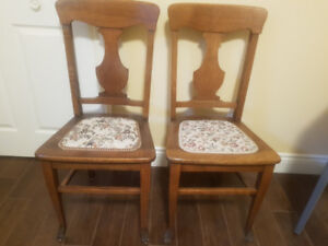 antique claw foot kitchen chairs
