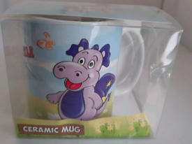 Welsh Wales Dragon ' Sparkle' Mug New in Box